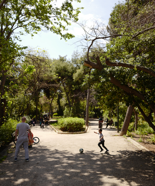 Pangrati Park. Photo: Michael Odelberth