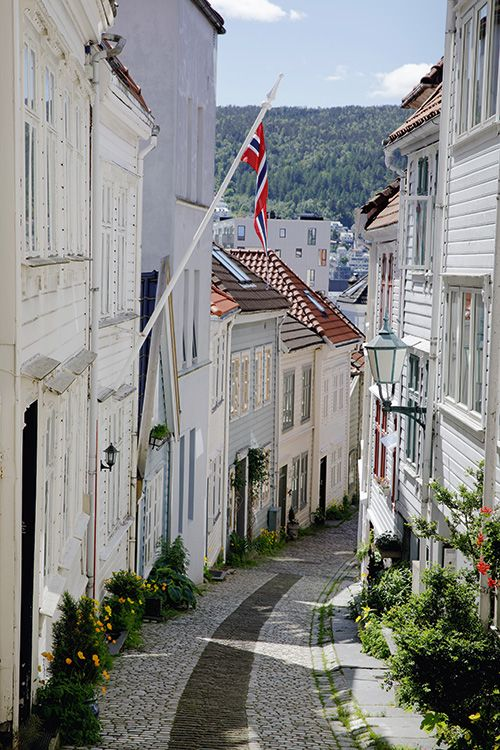 Nordnes, famed for its clusters of small wooden houses. Photo: Paul Amundsen