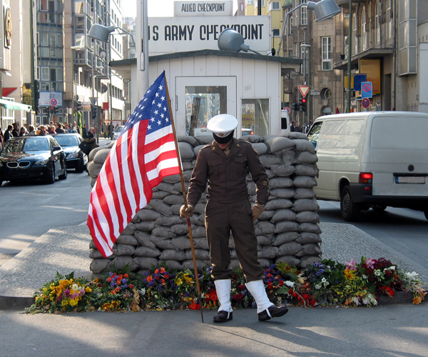 Checkpoint Charlie. Photo: Shutterstock