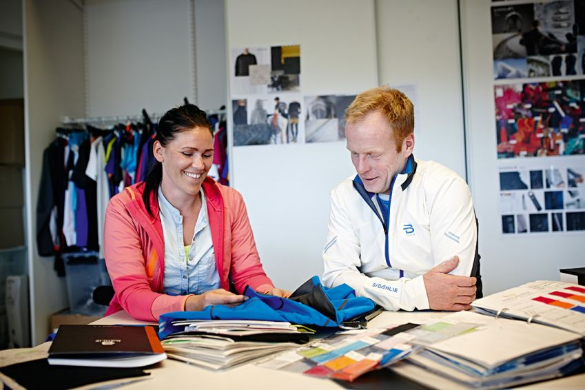 Dæhlie still has a hands-on role in all his business ventures, ¬including his sports clothing brand. Photo: Geir Dokken