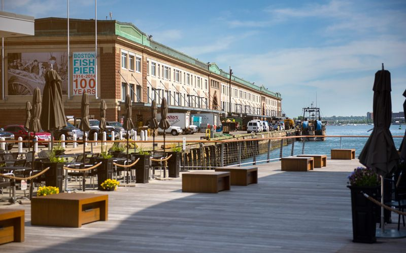 Boston's Fish Pier is the oldest working fish pier in the country. Photo: Niklas Gustafsson