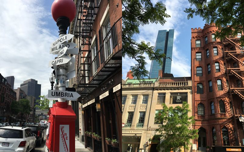 Little Italy and Newbury Street.  Photo: Anna-Lena Ahlberg