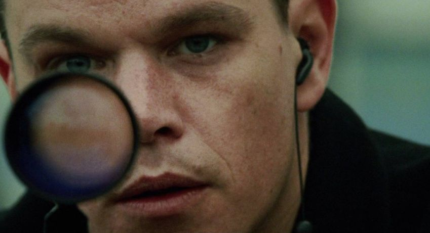 Matt Damon in The Bourne Supremacy.