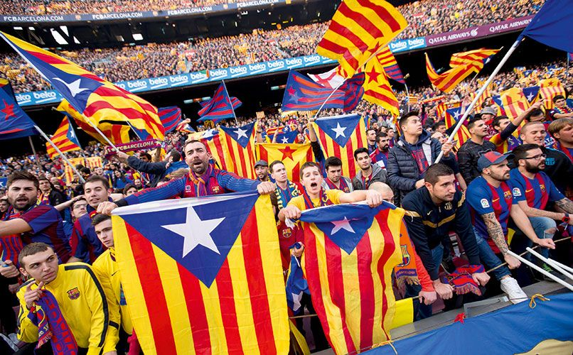 Camp Nou, Barcelona. High on the bucket list for most football tourists. Photo: Getty Images