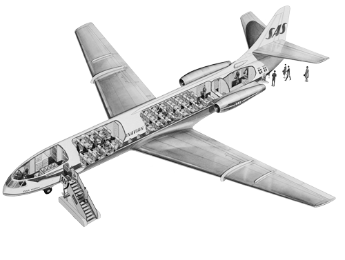 Illustration of SAS Caravelle.