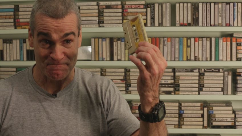 Henry Rollins in Casette - about the cassette tapes role in the music industry, its disappearance and its resurrection. Photo: CPH:DOX