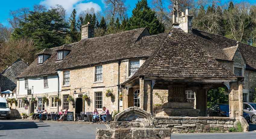 "Castle Combe has been called ""The prettiest village in England"". Photo: Mauro Rongione"