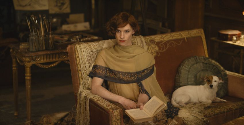 Eddie Redmayne as Lili Elbe. Photo from the film ©Universal Studios. All Rights Reserved.