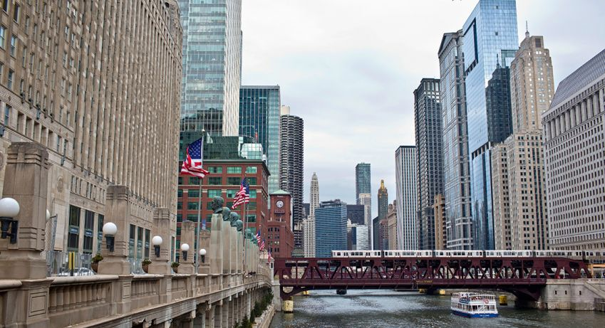 Chicago is the third biggest city in the US after New York and Los Angeles. Photo: Pontus Höök