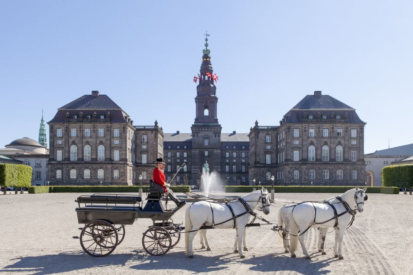 The stronghold of power, Christiansborg. Photo: Mikkel Grønlund