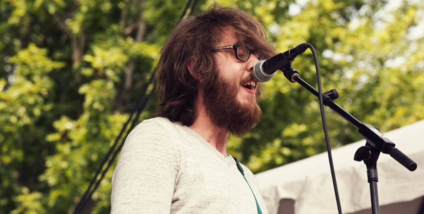 Cloud Nothings playing a last year's Pitchfork festival in Chicago. Photo: Ebru Yildiz