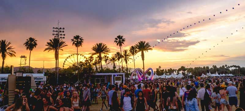 Coachella is both a music & art festival. Photo: Alan Paone/Flickr