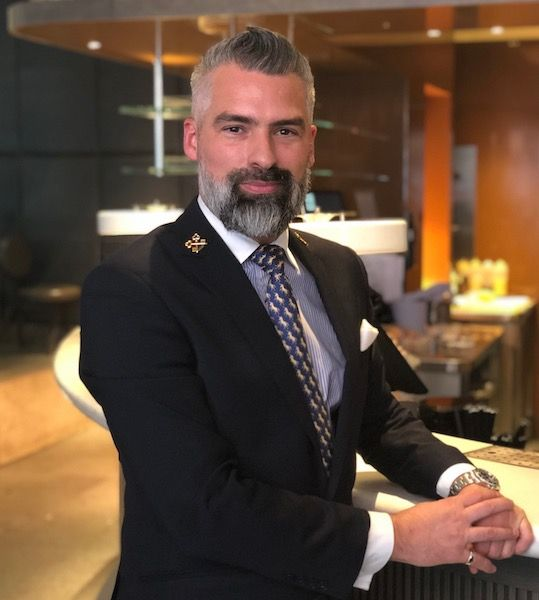 Darren Marlow, Head Concierge på The May Fair Hotel, London. Foto: Lise Hannibal