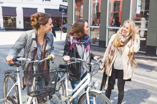 People are social in Copenhagen. Photo: Shutterstock