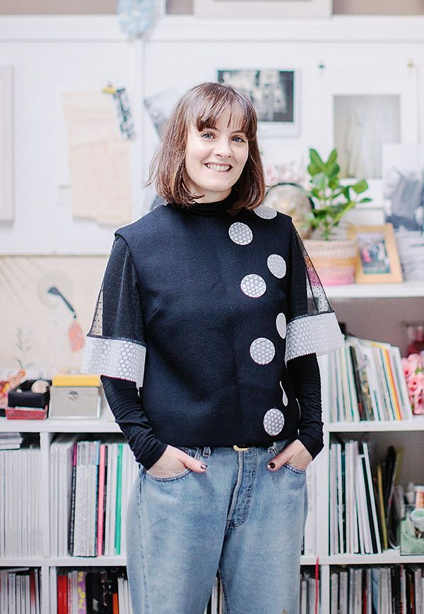 Aisling Farinella is, among other things, a fashion stylist, magazine editor, and promoter of all things fashion. Photo: Al Higgins