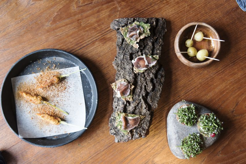 Sublime snacks at Domestic. Photo: Benjamin Lund Nielsen