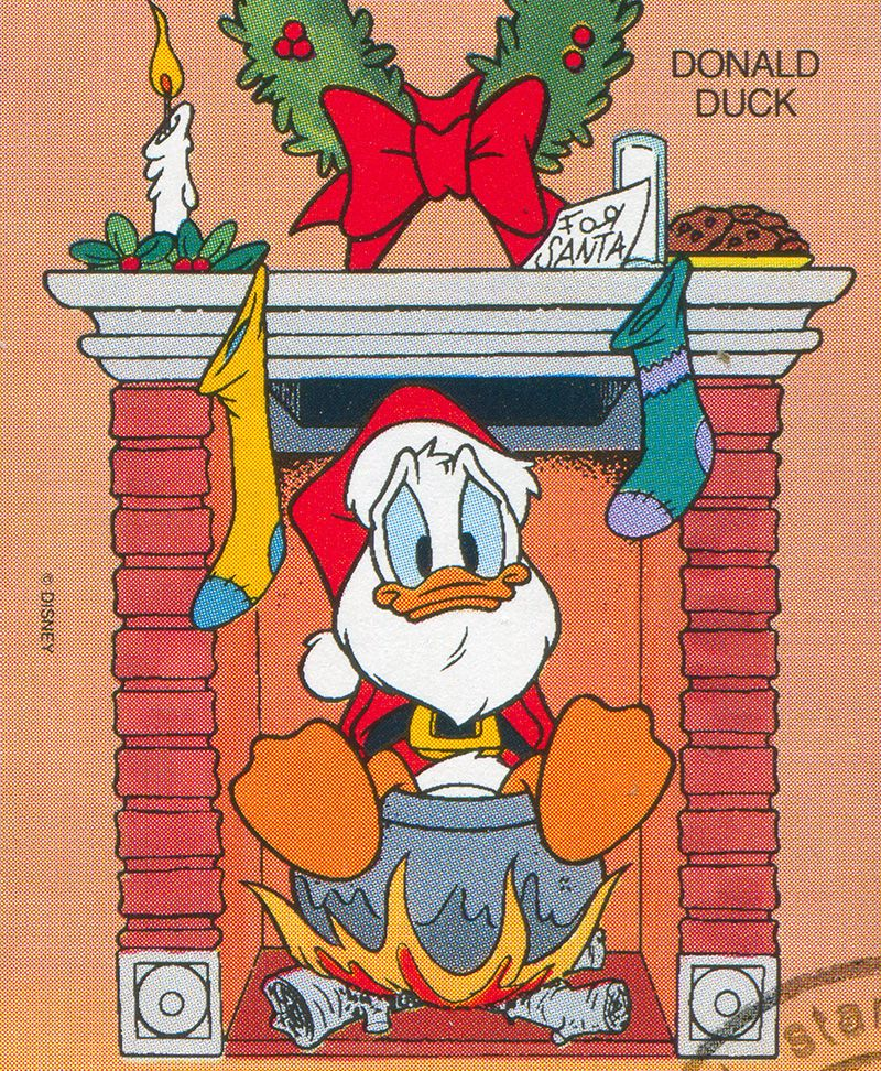 Donald Duck, loved by Swedes at Christmas. Photo: Mostphotos