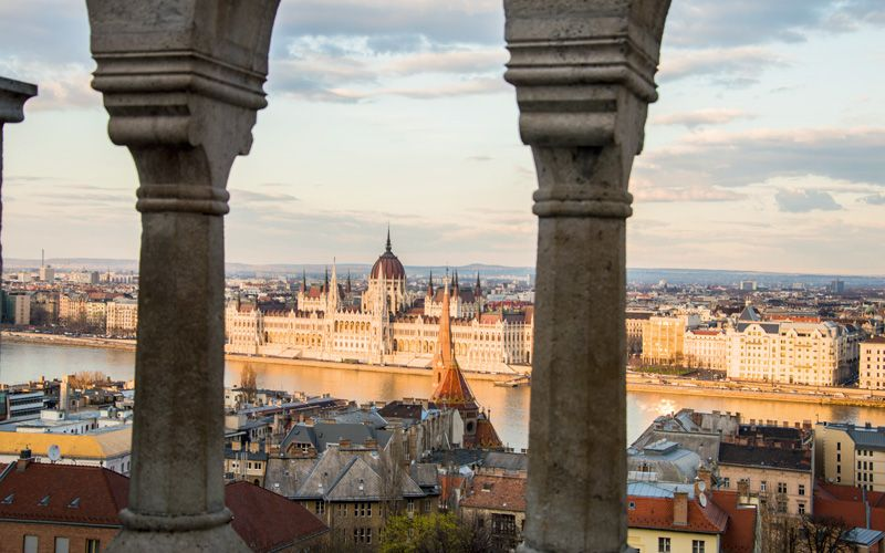 Beautiful Budapest and the Danube River Photo: Tyra Tollstoy Hoffman