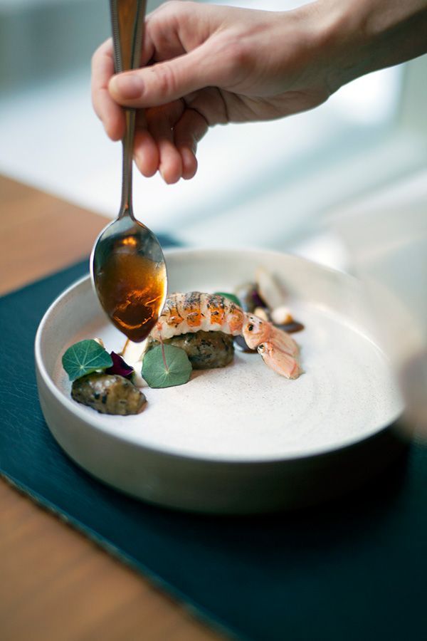 Aquavit has two Michelin stars and Emma is the only woman dead chef in New York City with a two stars restaurant. Photo: Anna Schori