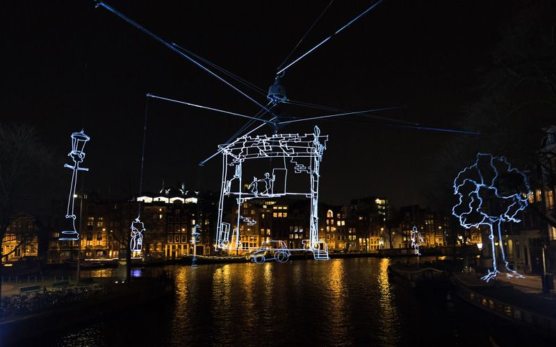 Amsterdam Light Festival Photo: Shutterstock