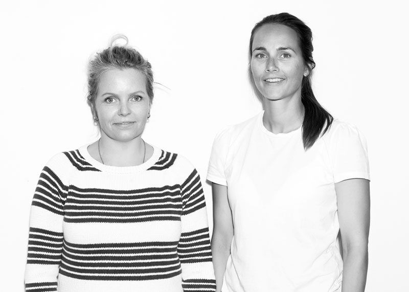 Thea Eline Sundhell and Maja Mejlænder Fleischer of Fleischer Couture.