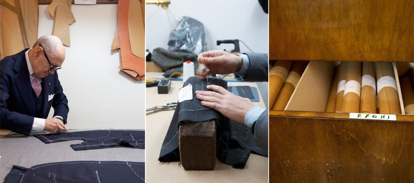 Handcrafted with care: bespoke tailoring from one of Italy's masters. Photos: Johanna Ekmark