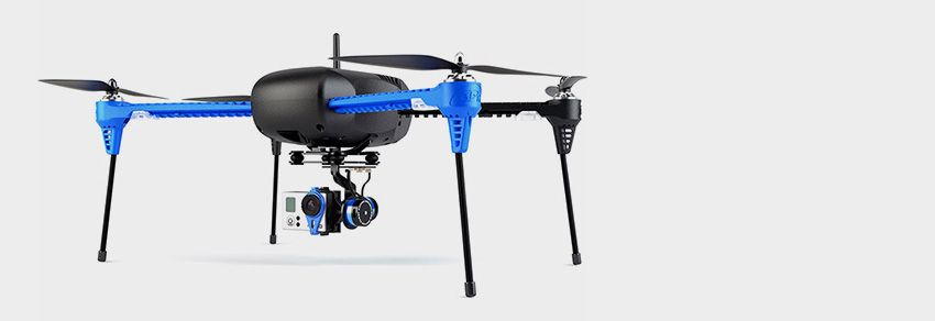 Remote-controlled flying cameras are called drones.