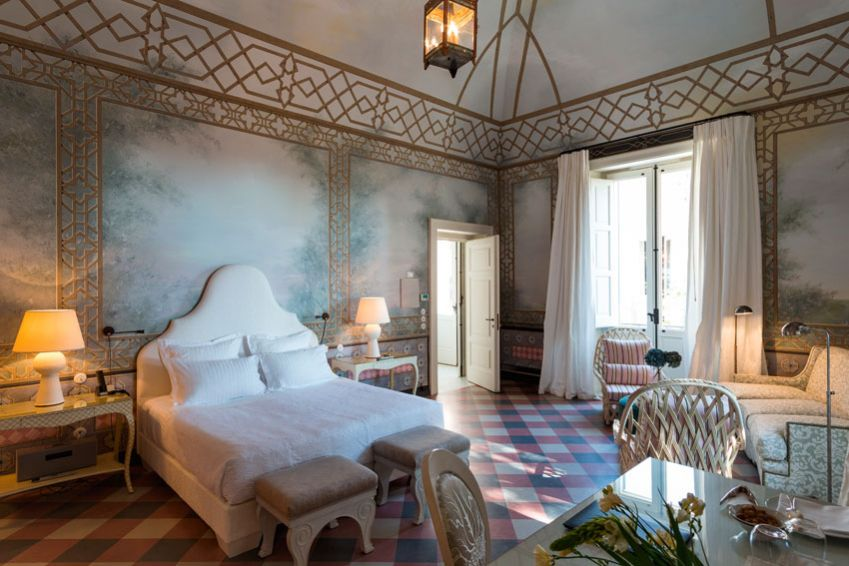 Suite at Palazzo Margherita. Photo: Charlie Gray