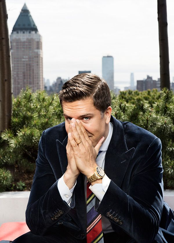 Real estate broker Fredrik Eklund has been living his dream in New York for 13 years now. Photo: Martin Adolfsson