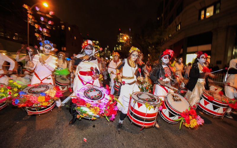 The Halloween Parade in New York Photo: Planetpix / Alamy