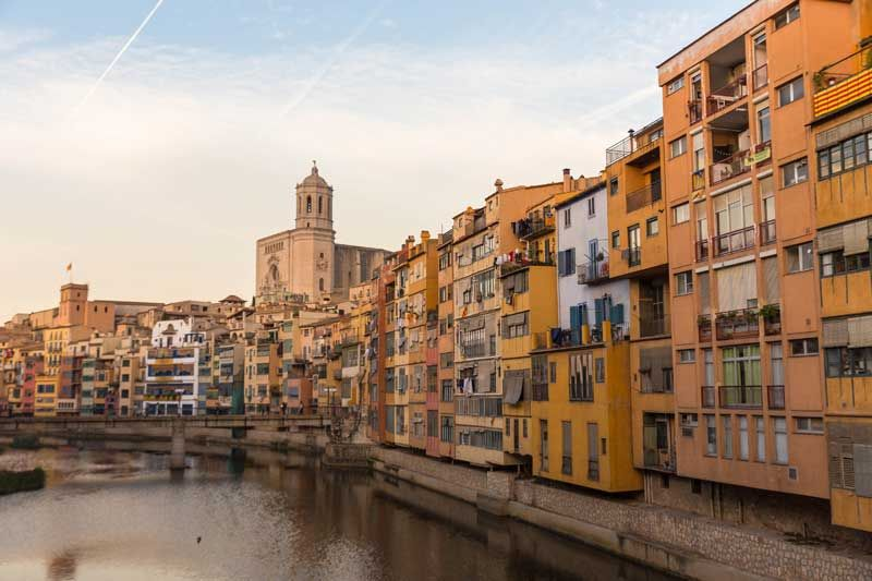 Girona is located approximately 100km from Barcelona. The city is great in itself, but also has good restaurants. Photo: Shutterstock