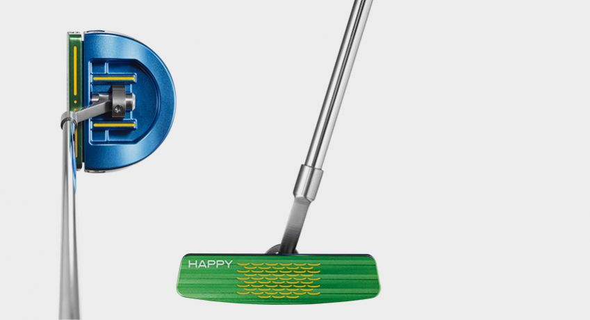 The Happy Putter is adjustable to 484 possible configurations.