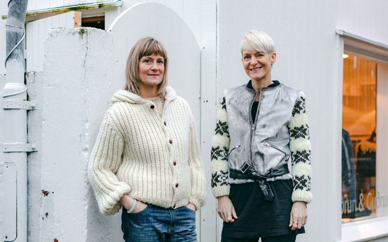 Gudrun Ludvig and Gudrun Rógvadóttir. Photo: Thomas Ekström