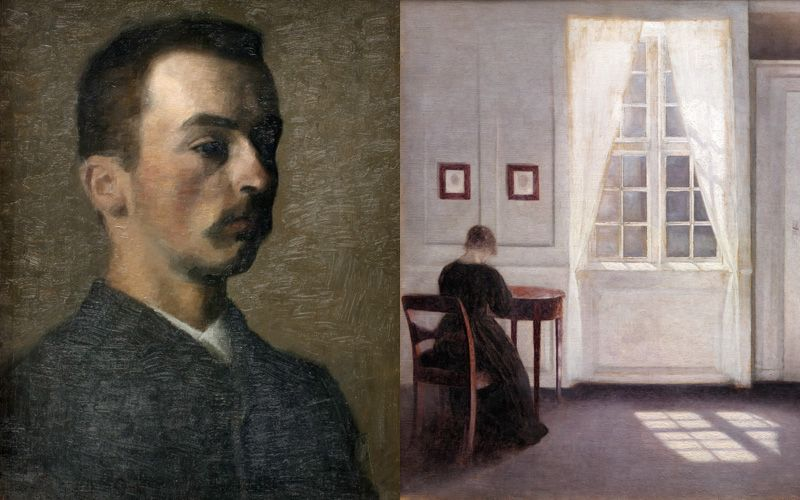 100 years after his death, Hammershøj's paintings still delight art lovers all over the world. Photo: SMK / Statens museum for kunst