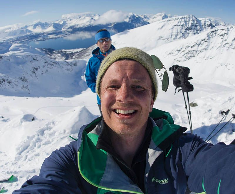"""Norway has a unique skiing culture,"" says photographer and outdoor writer Hans-Kristian Krogh-Hanssen."