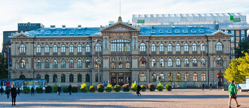 The Ateneum  art museum in Helsinki. Photo: Shutterstock