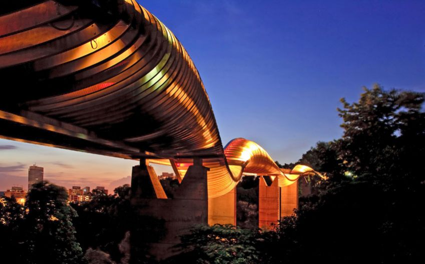 Henderson Waves Bridge, Singapore. Photo: Allover Press
