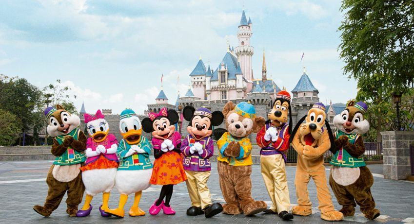 The famous characters at Hong Kong Disneyland will probably be one of the highlights for the kids.