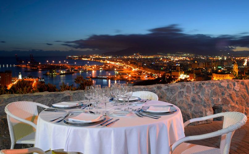 Parador de Gibralfaro in Málaga. Photo: Parador.es