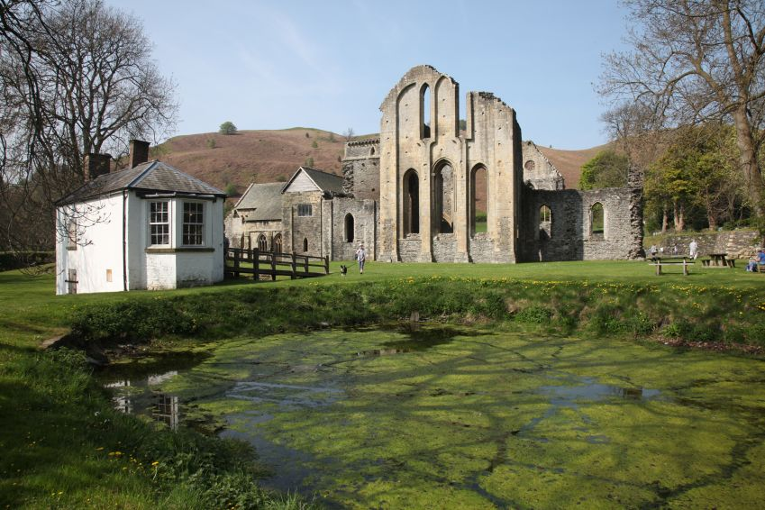 Valle Crucis Abbey. Foto: Andrew Blackwell