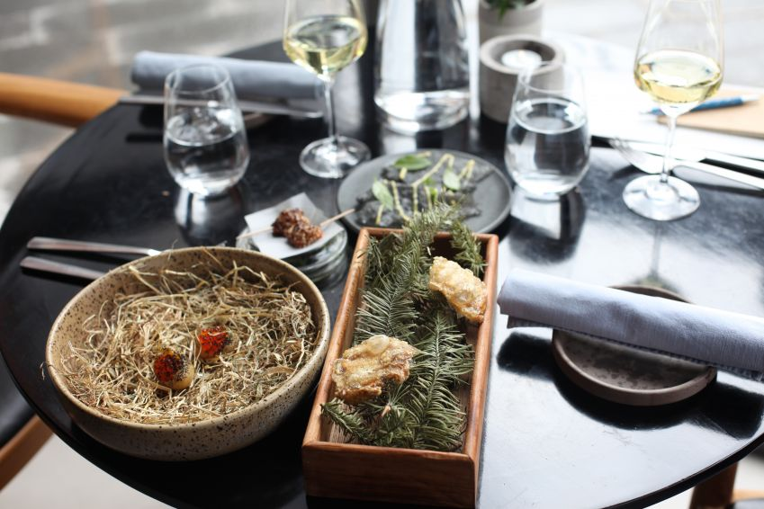 Food at Mmoks, one of the new stars of Odense's gastro scene. Photo: Lise Hannibal