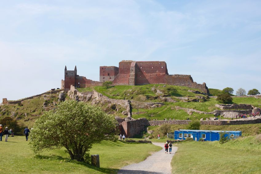 Hammershus is Northern Europe's largest castle ruin. Photo: Lise Hannibal