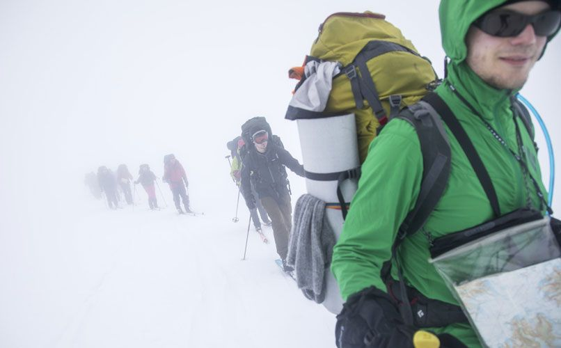 The weather in Norway is not for the faint-hearted. Be prepared. Photo: Thomas T. Kleiven/VisitNorway.com