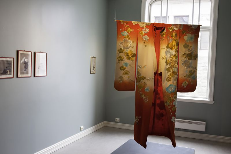 Japonismen is an important part of art nouveau. See the exhibition on Jugendstilsenteret in Ålesund. Photo: Evy Andersen