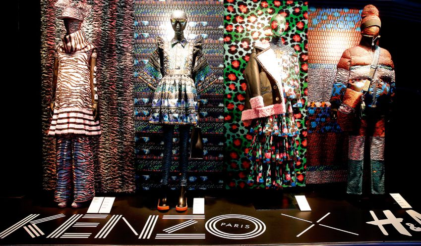 479422291fd Reinvigorated brand Kenzo teamed up with H&M in 2016. Photo: Getty Images