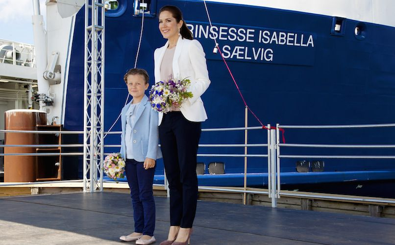 The ferry from Jutland to Samsø runs on gas and is named after Princess Isabella. Photo: Jeanette Philipsen/VisitSamsø