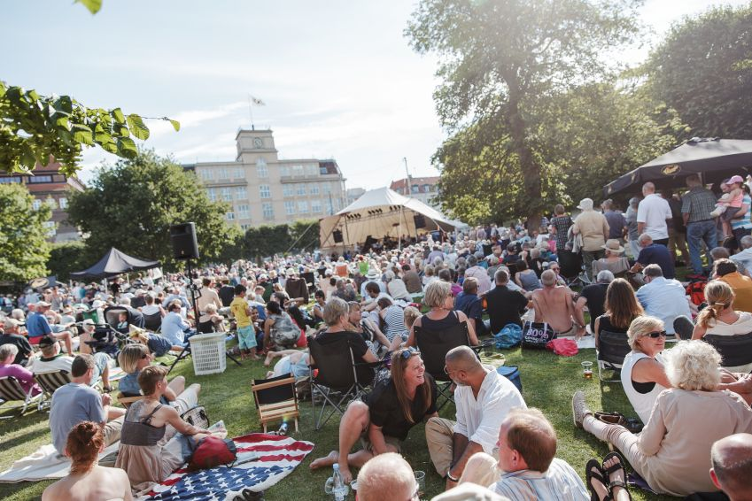 Copenhagen Jazz Festival offers lots of free concerts. Photo: Kristoffer Juel Poulsen