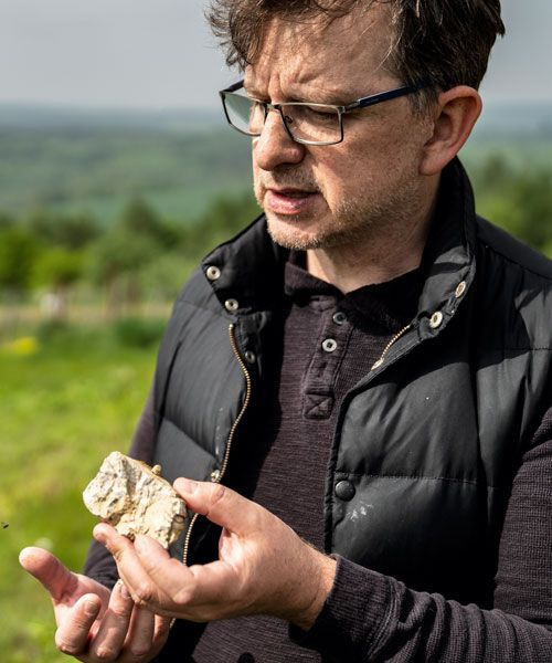 You can taste the minerals in the wine of Marcin Miszczak. Photo: Rasmus Flindt Pedersen
