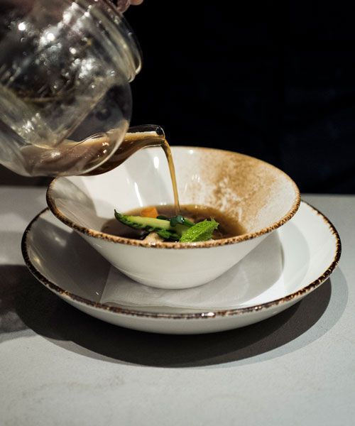 One of the dishes at Halicka Eatery&Bar. Photo: Rasmus Flindt Pedersen