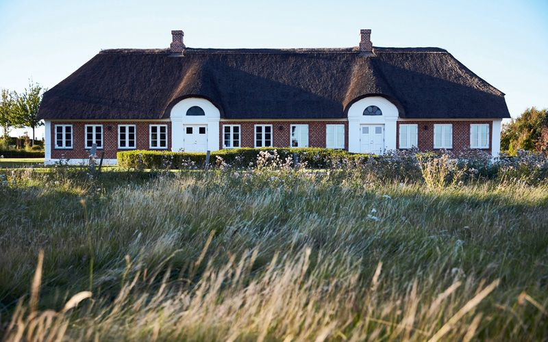 Henne Kirkeby Kro on Jutland  is well-known for its Michelin-starred food.